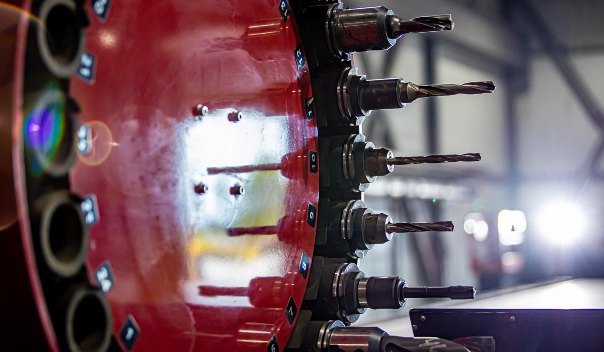 Perçage au plasma drill - CBR Laser
